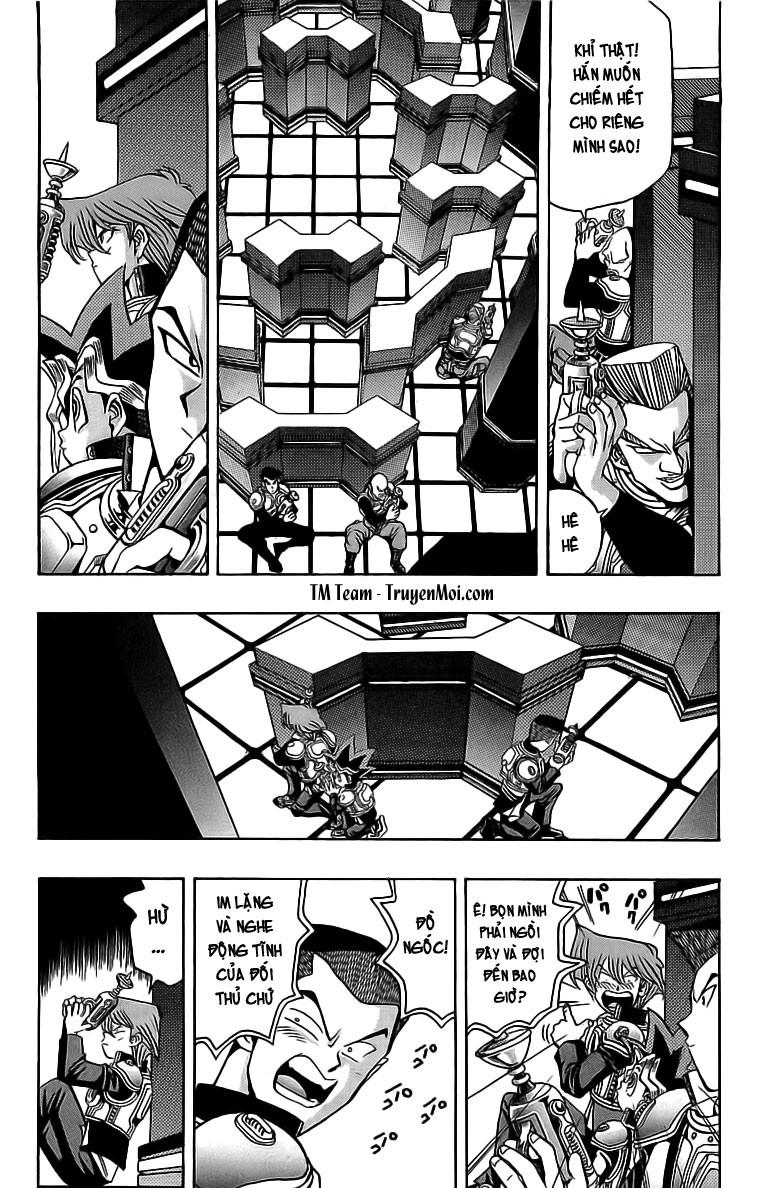 YUGI-OH! chap 29 - trận đấu sùng ảo trang 6