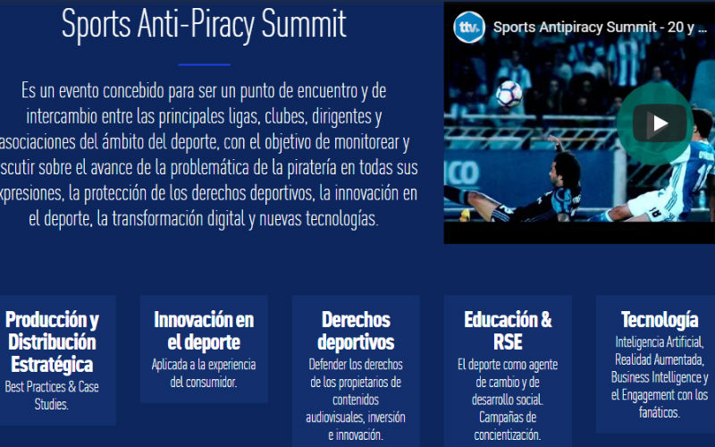 antipirateria tv summit