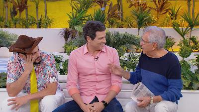 Matheus, Celso e Carlos Alberto (Divulgação/SBT)