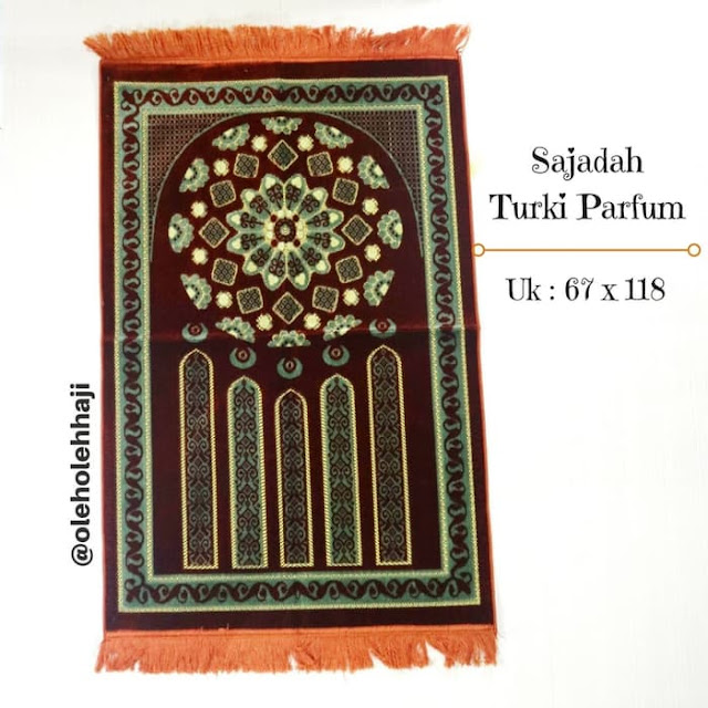 Sajadah Turkey Harum Jumbo