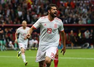 Espanha derrota Irã por 1 x 0 com terceiro gol de Diego Costa