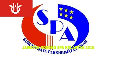 Permohonan Jawatan Kosong SPA Kelantan 2018 Online