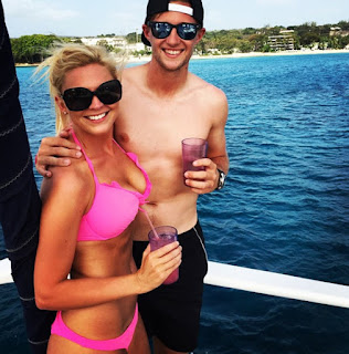 Joe Root's girlfriend Carrie Cotterell