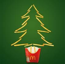 saying mcdonalds christmas ad - 800×893