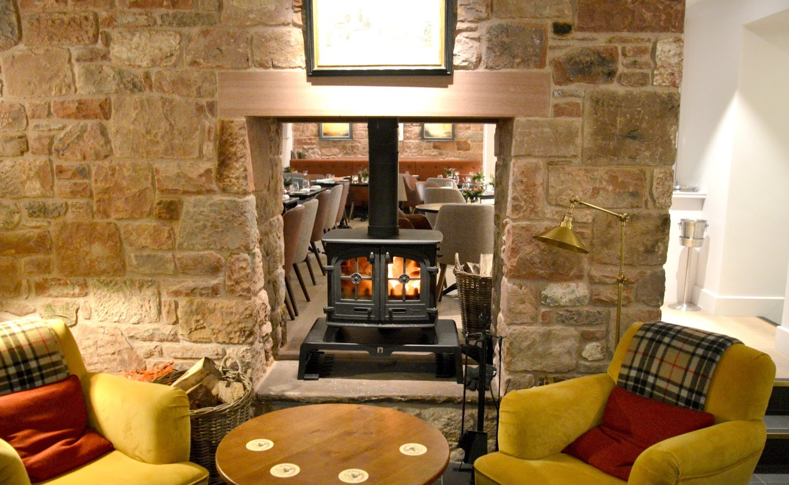 Pentonbridge Inn Cumbria - Open Fire