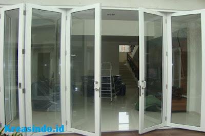 Jasa Pemasangan Pintu Lipat Alumunium Jabodetabek