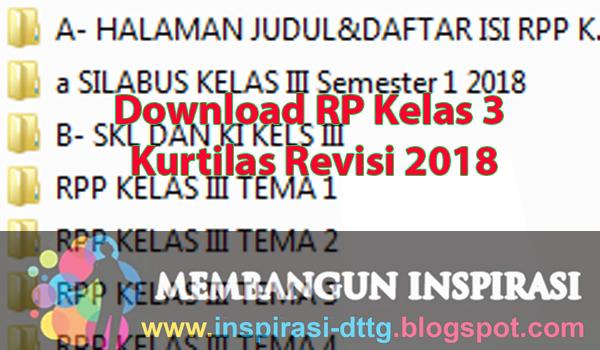 Download RPP Kelas 3 SD/MI Kurikulum 2013 Revisi 2018 ...