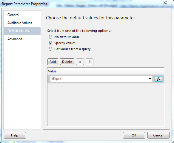 Microsoft Technologies: Pass Multi Value Parameter to SSRS Report