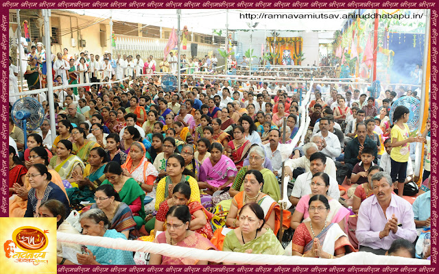 RAM-Blessing- Ramnavami Utsav-shraddhawan-Bhakti-Bandra East