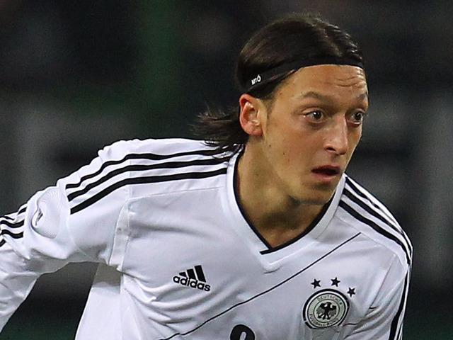 Mesut Ozil Germany 2012