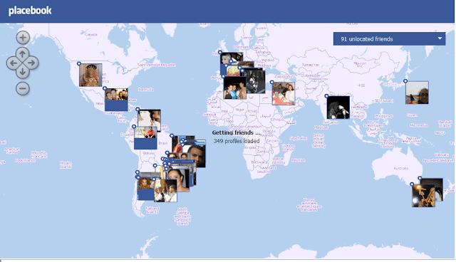 طريقة لمعرفة مكان تواجد أي صديق على الفيس بوك