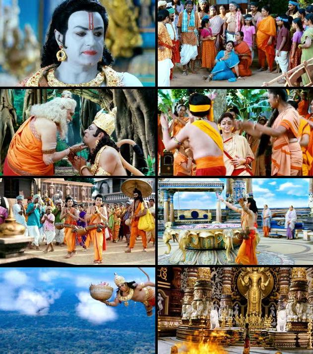 Sri Rama Rajyam 2011 UNCUT Dual Audio Hindi  BluRay