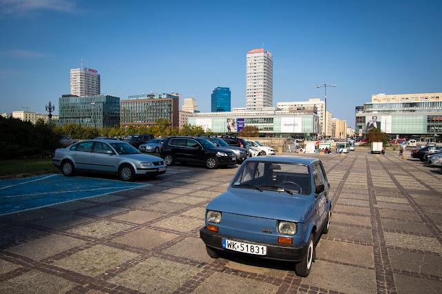 Auto d'epoca-Varsavia