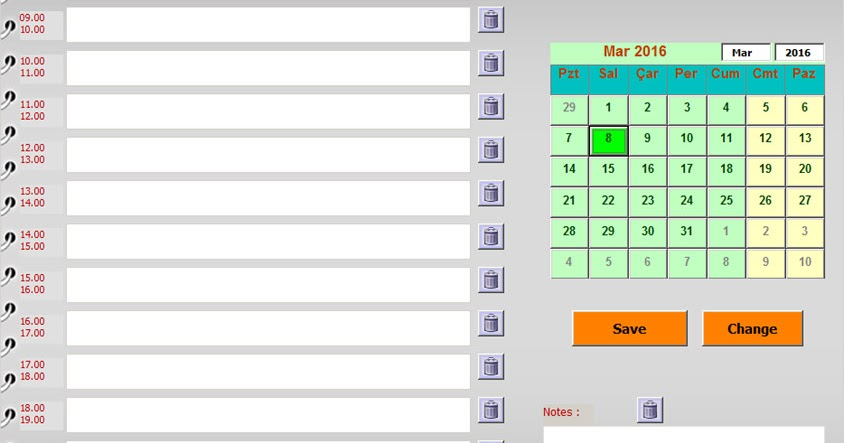 Calendar With Event Planner (To-Do List) - Hints And Tips About ...
