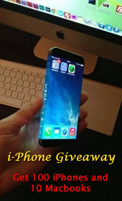 win free iphone 4