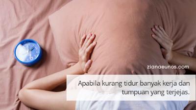 Kesan Buruk Kurang Tidur