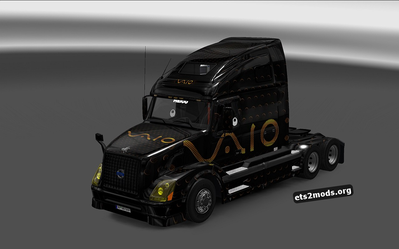 Sony Vaio Skin for Volvo VNL 670