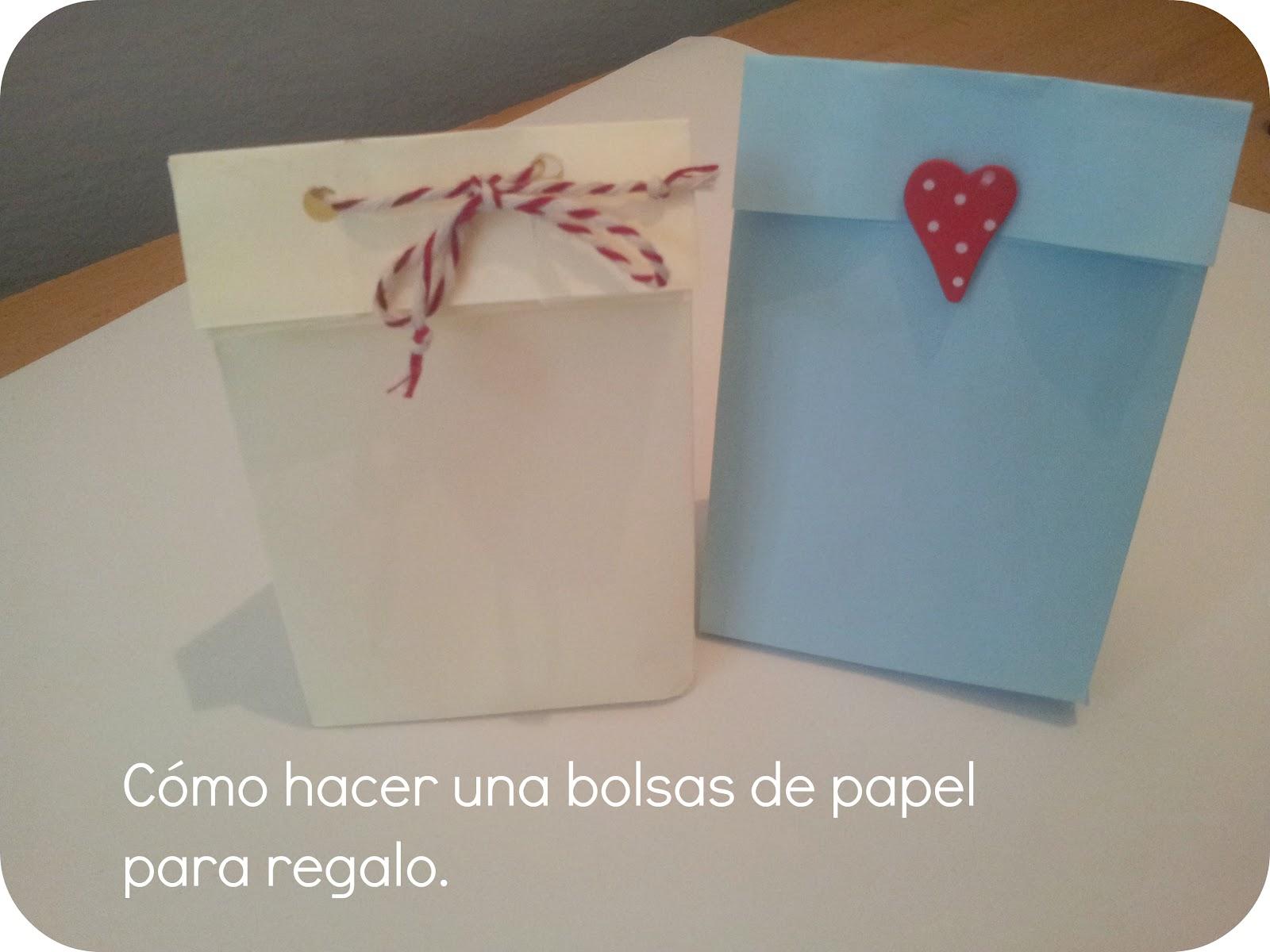 0df316c92 Srta Pomelo: Tutorial: cómo hacer unas bolsas de papel para regalo.