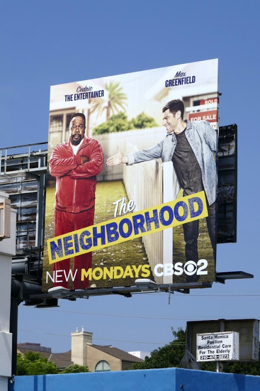 Neighborhood series launch billboard