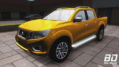 Mod, Carro, Nissan Frontier (Navara) 2017 para GTA San Andreas, GTA SA