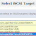 How to delete an iscsi-target from openfiler and Linux