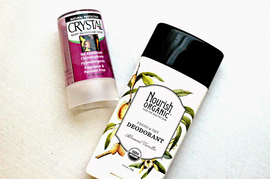 Making the Switch to Natural Antiperspirant & Aluminum-Free Deodorants