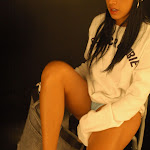 Andrea Rincon, Selena Spice Galeria 19: Buso Blanco y Jean Negro, Estilo Rapero Foto 75