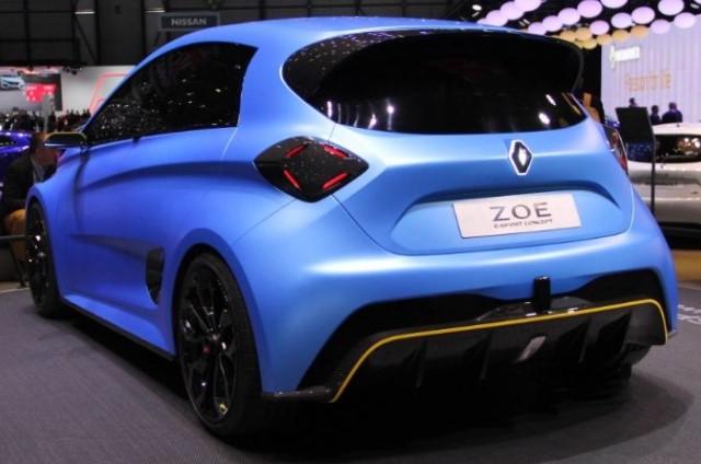 Renault Zoe electric Sport concept