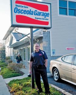 Osceola garage of putnam county automotive repair and for Golden rule garage door