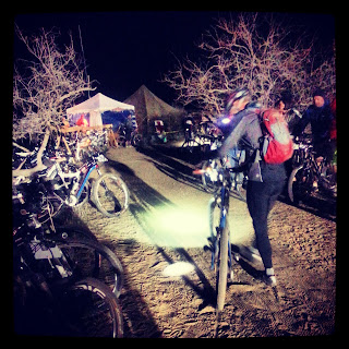 Rider Heads Out for a Night Lap @ 24 Hours in Old Pueblo