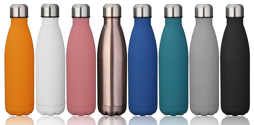 Kingso Stainless Steel Water Bottles for only $10