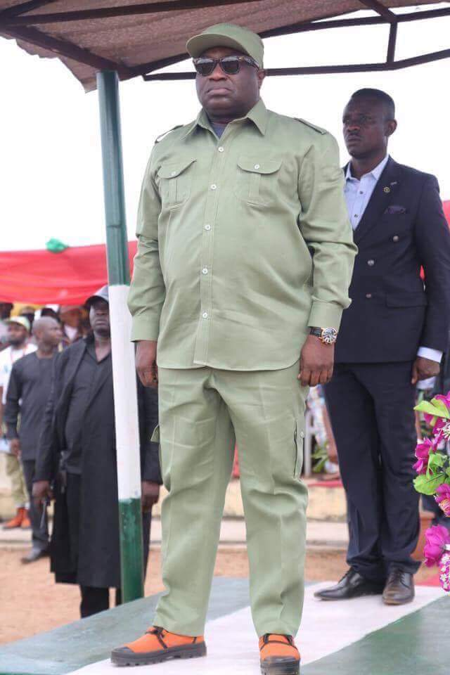 IKPEAZU MAKES CASE FOR MADE-IN-ABA NYSC UNIFORM