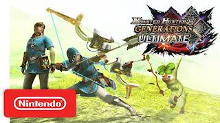 Monster Hunter Generations Ultimate x The Legend of Zelda - Trailer