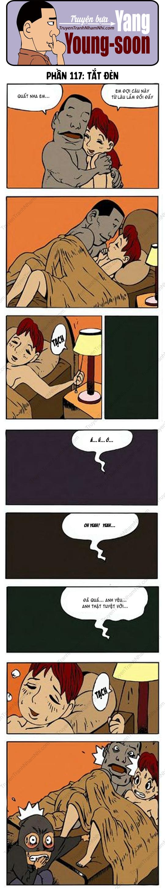 Yang Young-Soon phần 117: Tắt đèn