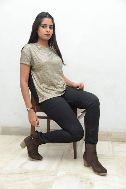 Roopa Reddy Stills At Bommala Ramaram Teaser Launch