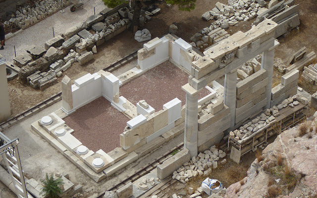 Restoring the Acropolis' 'Lost' Thrassylos Monument