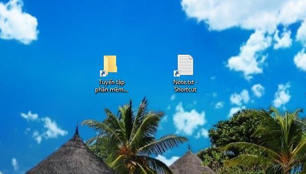 cách đưa shortcut icon ra ngoài desktop trong windows