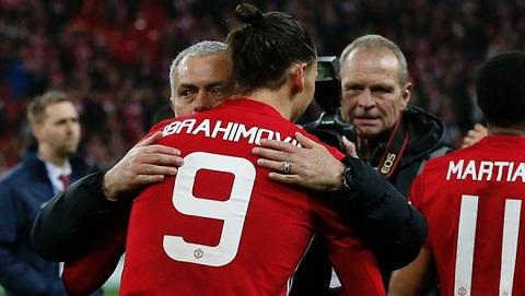 Ibrahimovic từng gắn bó với Mourinho ở Inter