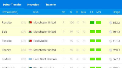 cara cheat osm online soccer manager money unlimited uang
