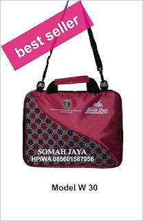 tas laptop batik murah jogjakarta tas seminar batik lurik w-30