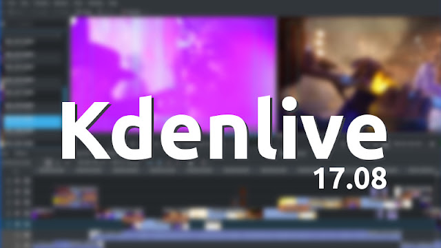 Lançado Kdenlive 17.04 Novidades