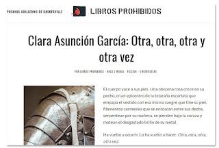 """Clara Asunción García - Relato """"Otra, otra, otra y otra vez"""""""