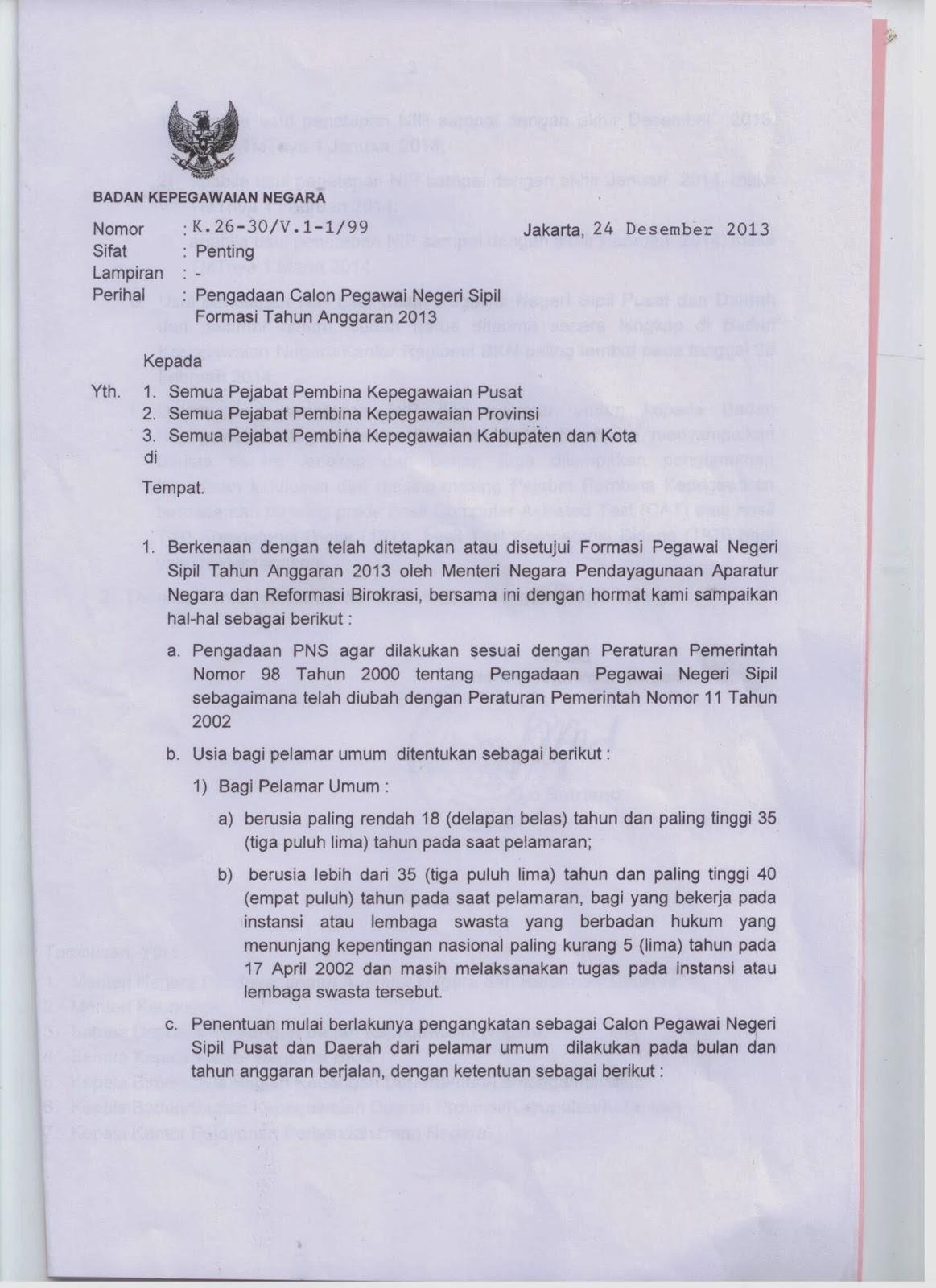 Cpns K2 2013 Banten K2 Banten Terbaru Juli 2016 Loker Bumn Cpns 2015 Penetapannipcpns2013 2014dantmtpns2013jpg