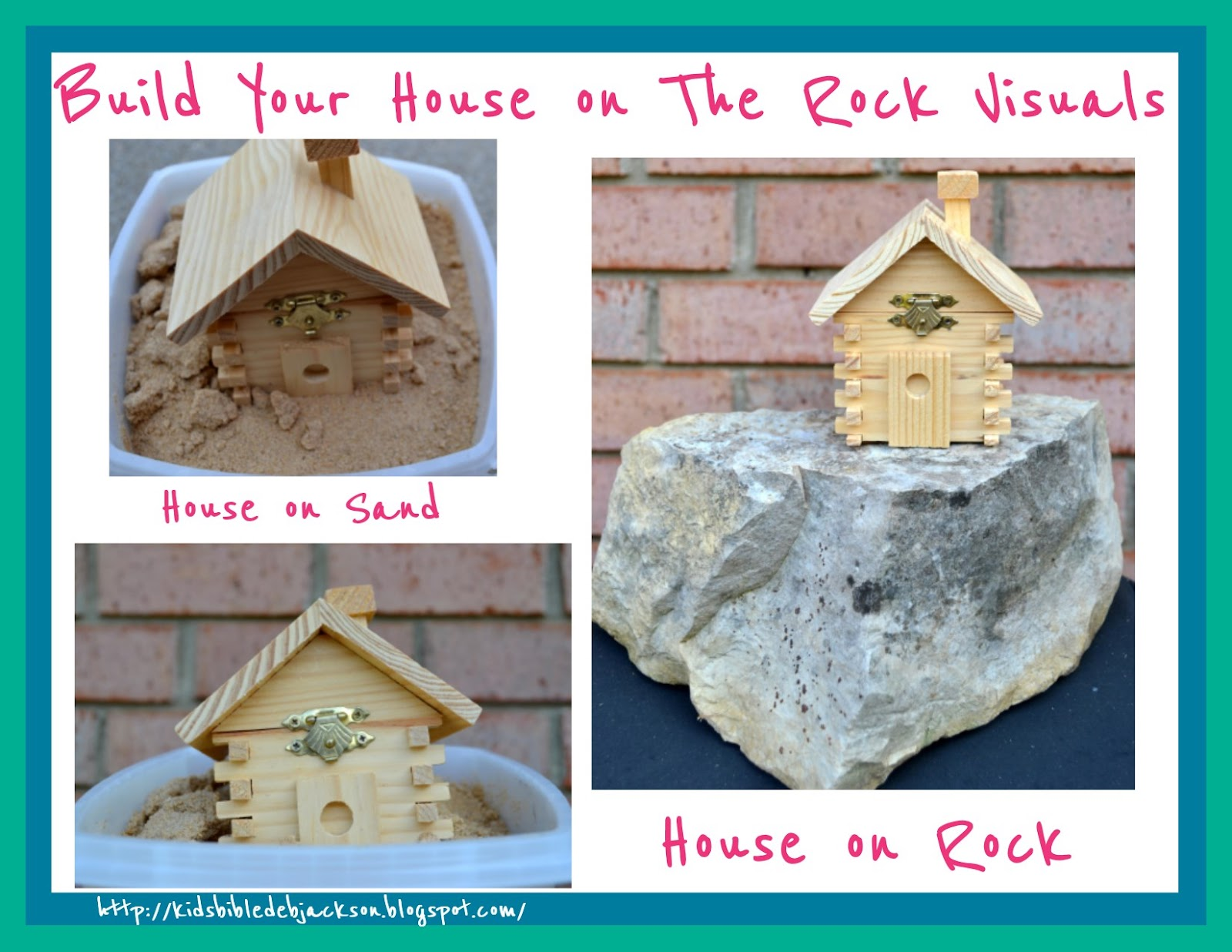Bible Fun For Kids Parable Of Build Your House On The