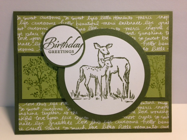 My Creative Corner An In The Meadow Masculine Birthday Card