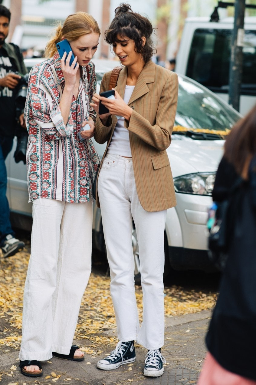 2 French-Girl Ways to Dress Down
