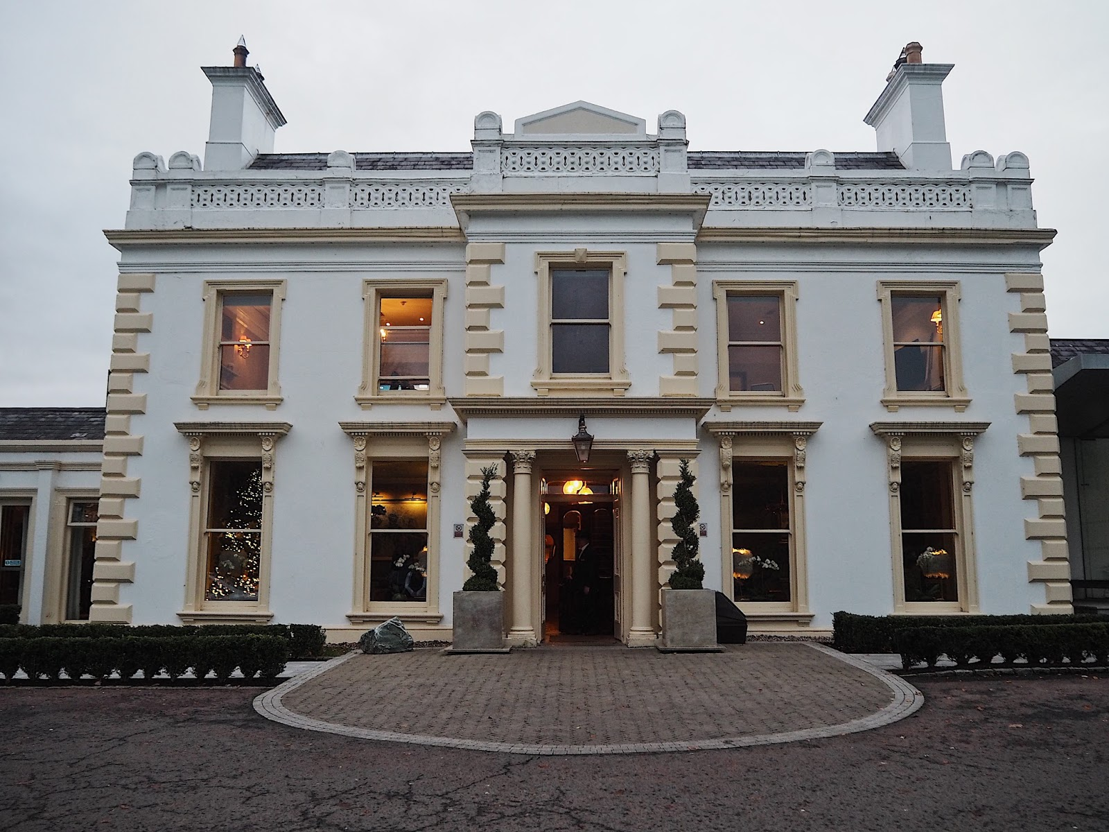 The Entrance of Galgorm Resort and Spa
