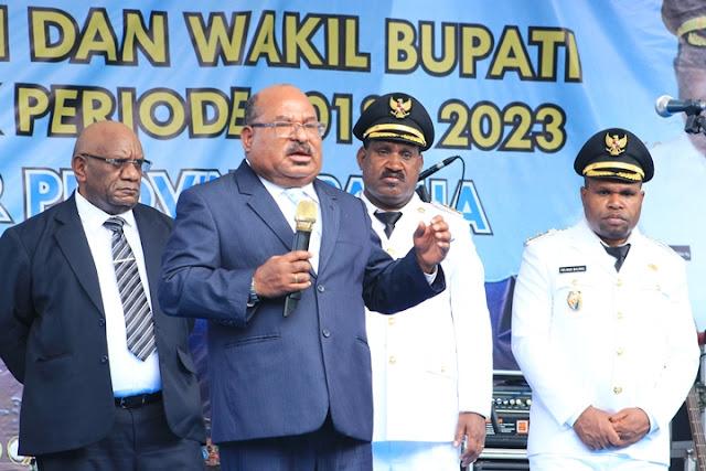 Gubernur Enembe: Jangan Lagi Ada OAP yang Mati Sia-sia