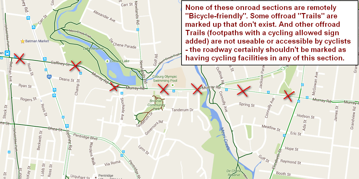 I Biked Here With Google Maps Issue Offroad Bike Paths Should - Google maps trails