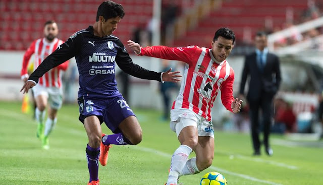 Necaxa vs Queretaro en vivo Liga MX 27 Septiembre